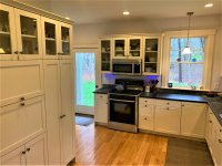 Cool Kitchen with indirect LED lighting