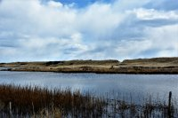 short paddle across close-by Chilmark Pond to deeded beach